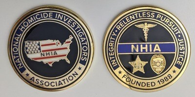NHIA Challenge Coin