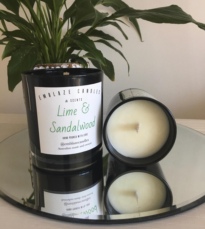 Lime and Sandalwood