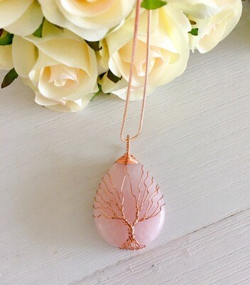Tree Of Life - Rose Quartz
