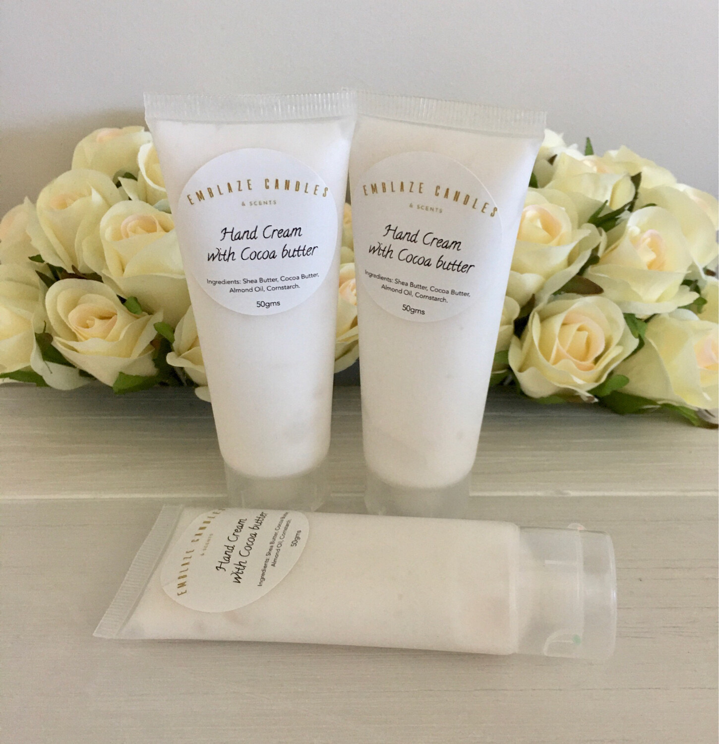 Hand Cream With Cocoa Butter