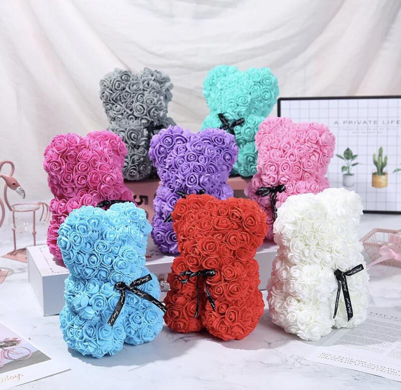 Forever Rose Bears