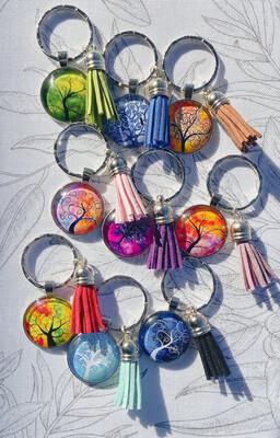 Key Chain/Bag Tag - Tree Of Life