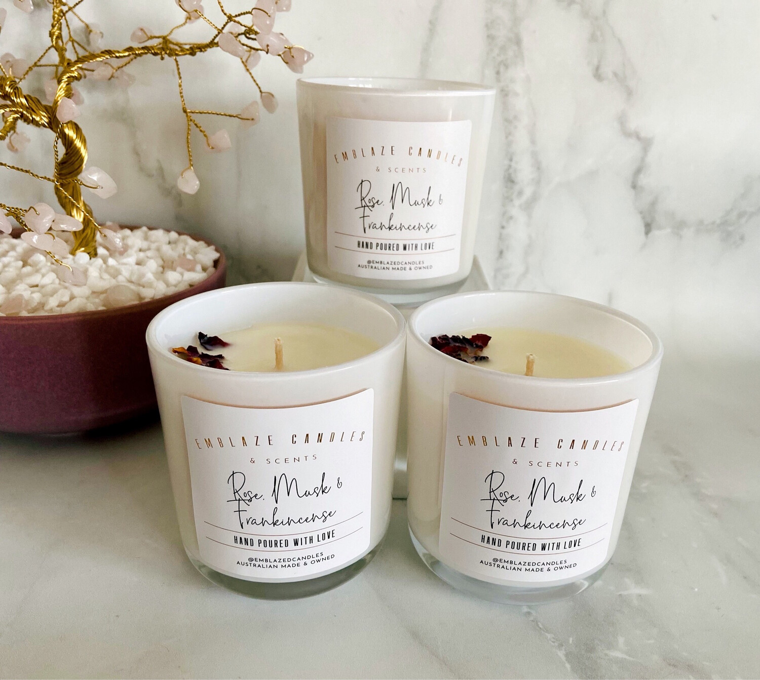 Rose, Musk and Frankincense