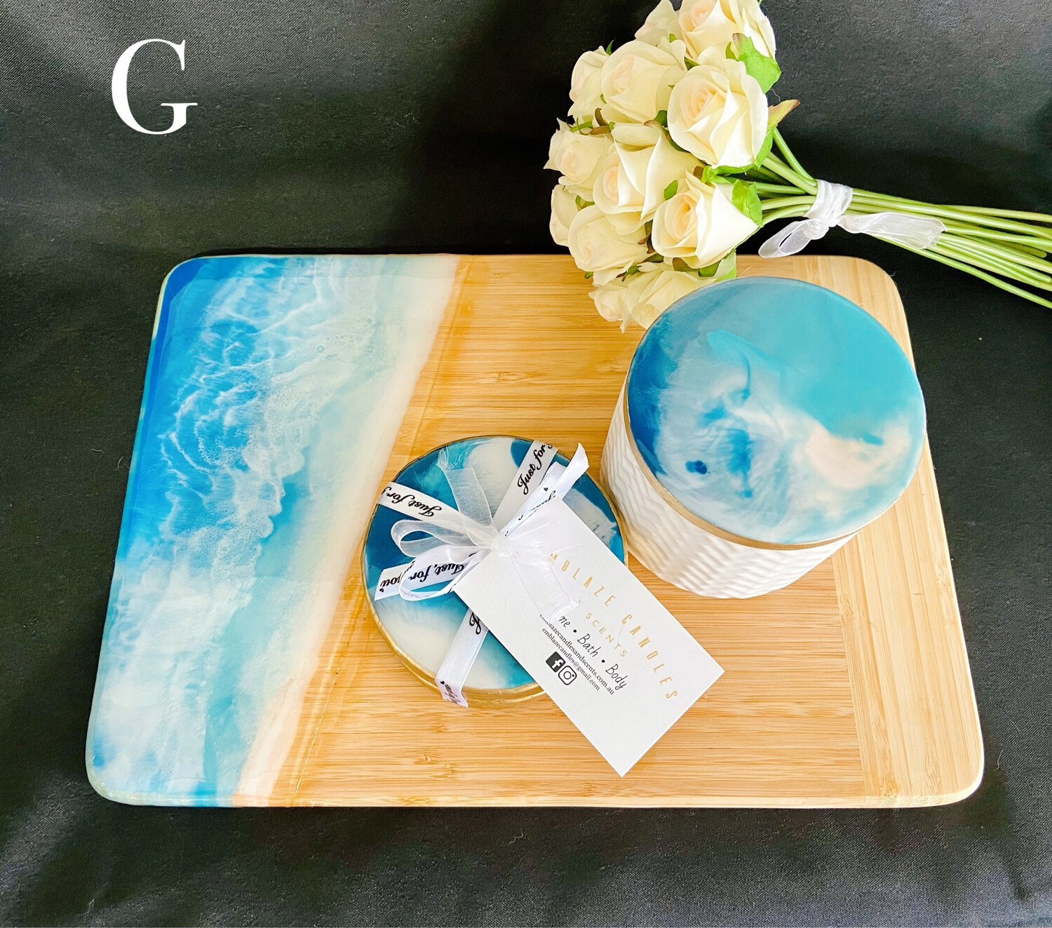 Resin Sets - Multipurpose Board, Coasters & Canister