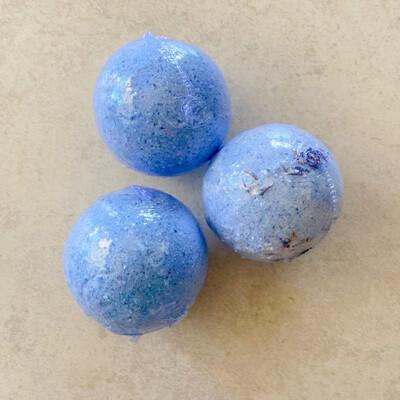 Blue Raspberry Slurpee Bath Bombs