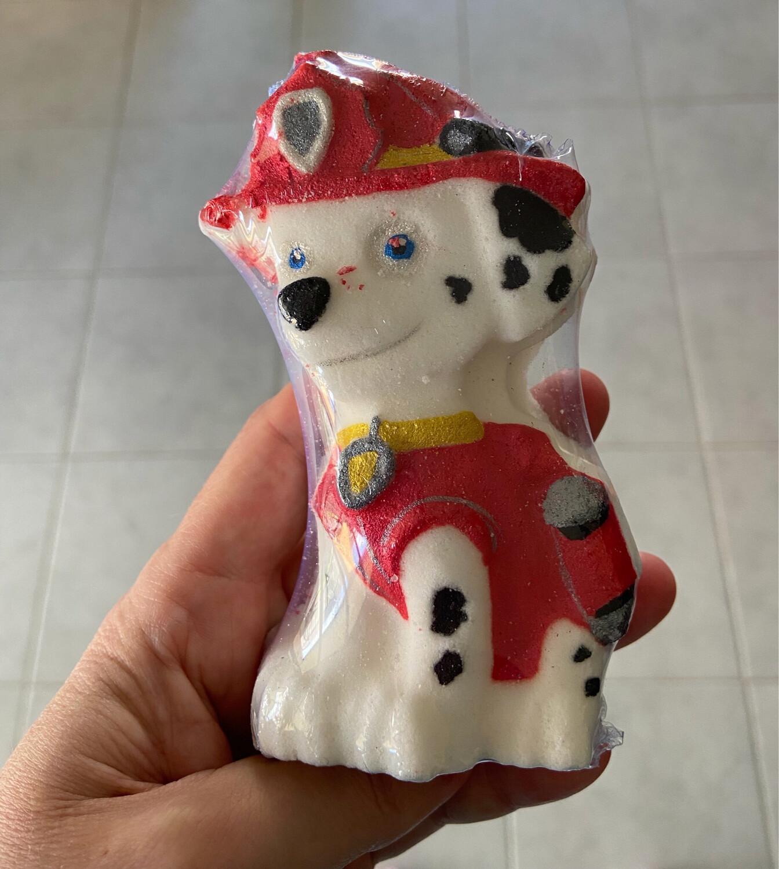 Fire Dog Bath Bomb