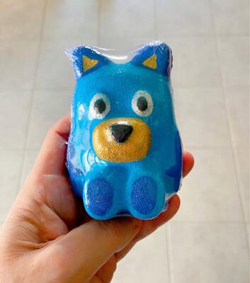Blue Dog Bath Bomb
