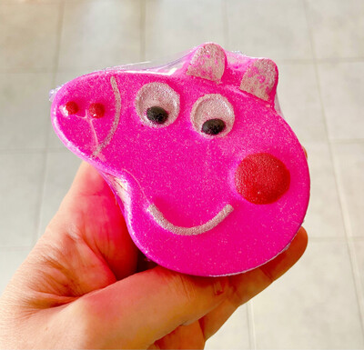 Pink Piggy Bath Bomb
