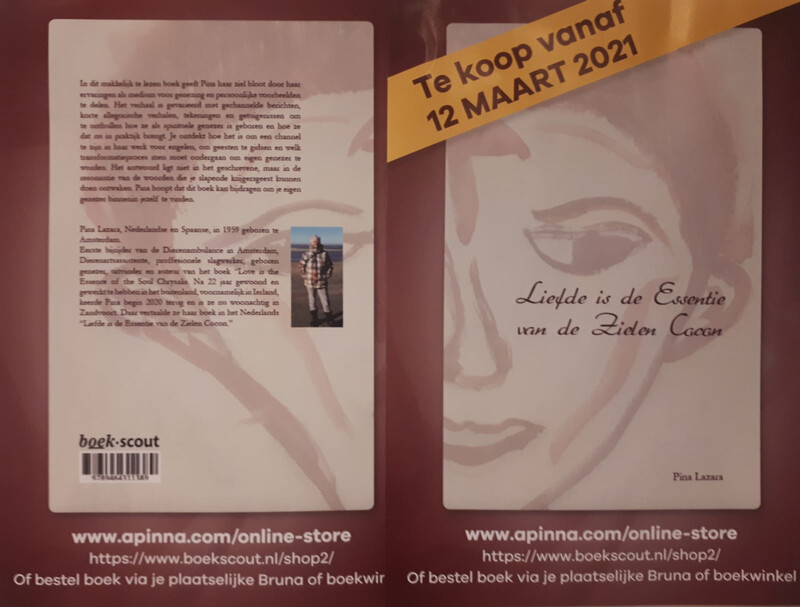 Liefde is de Essentie van de Zielen Cocon - Book by Pina Lazara (Dutch Version)