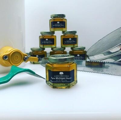 100% Pure Michigan Raw Honey (6oz)