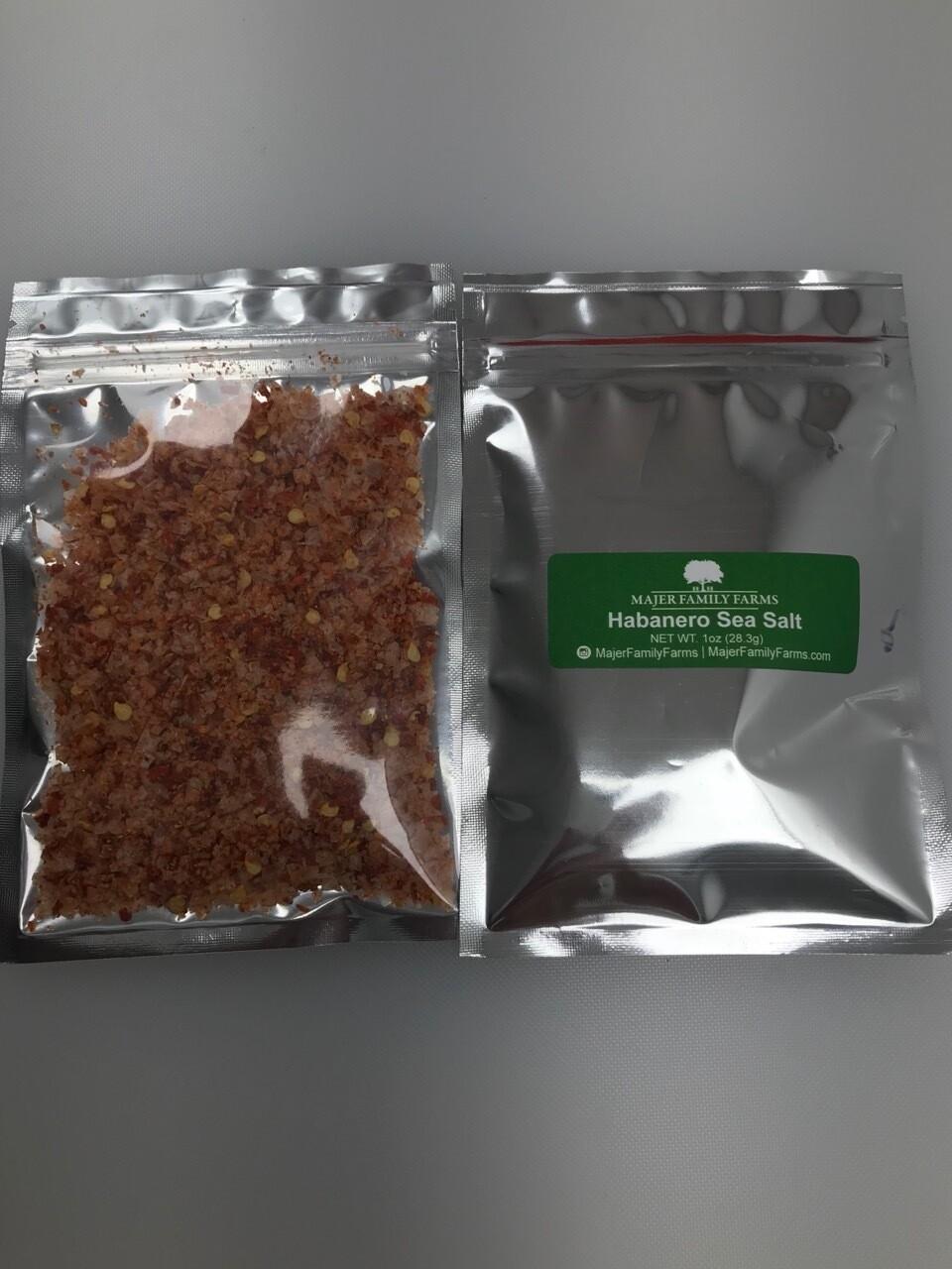 Habanero Infused Sea Salt Jar Refill (1oz)