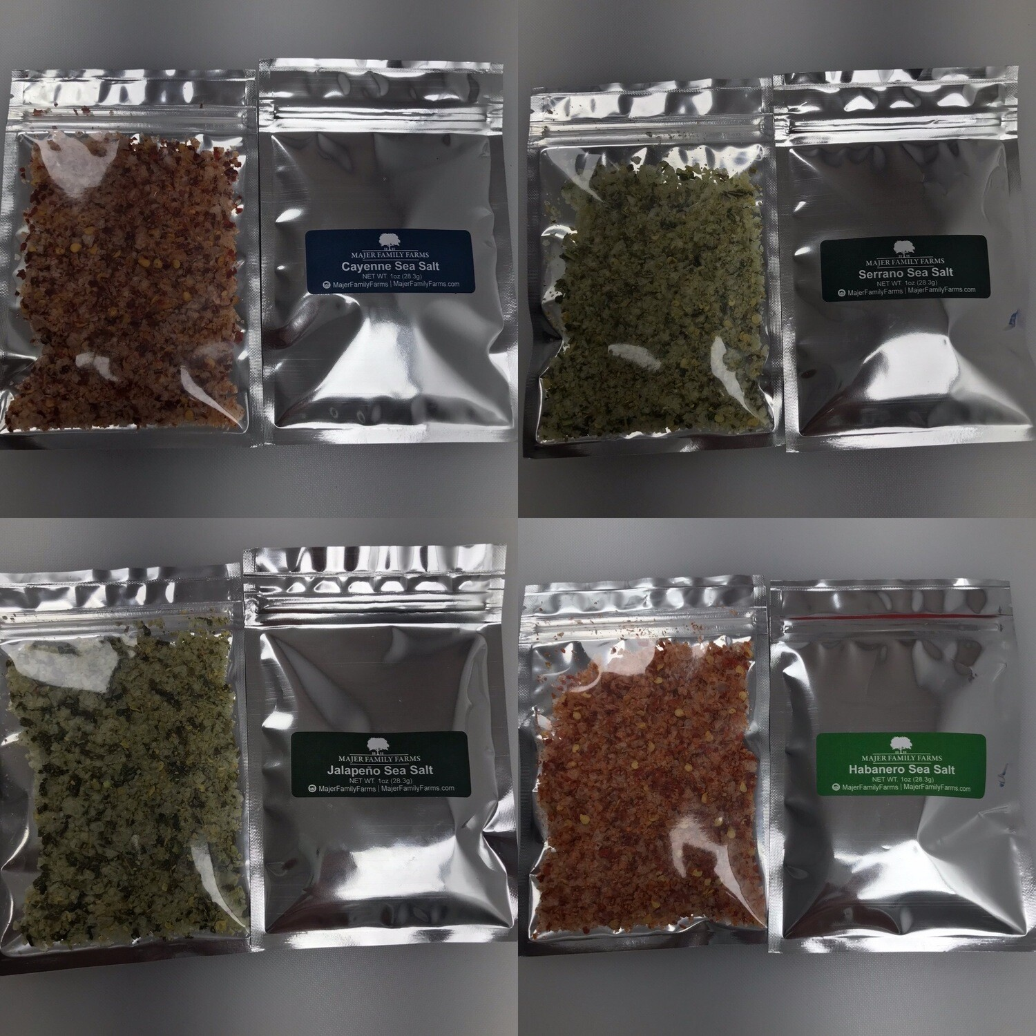 Infused Sea Salt Sampler Pack (Free Shipping)