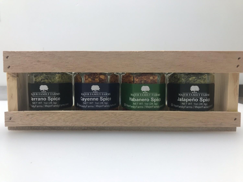 Custom Spice Crate Gift Set