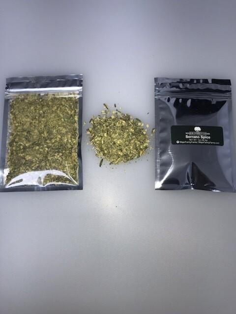 Serrano Spice Jar Refill 1oz