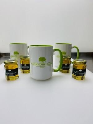 Majer Family Farms Mug & 3oz Honey