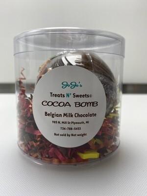 Belgian Milk Chocolate Cocoa Bomb W/Cayenne Spice