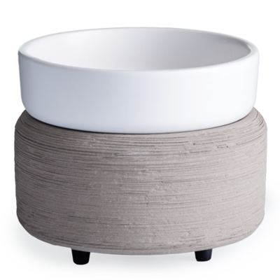 2-in-1 Classic Warmer Grey Texture