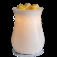Glass Blown Illumination Fragrance Warmer Moonstone