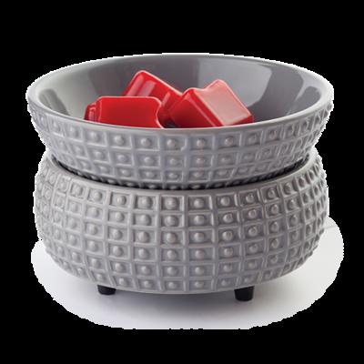 Warmer And Dish- Slate