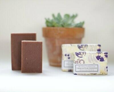Hibiscus Rose Geranium Soap