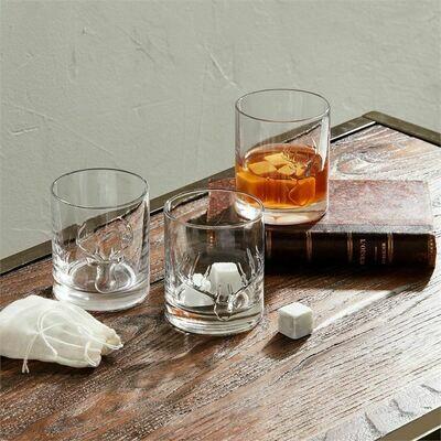 Antlers DOF Whiskey Glass