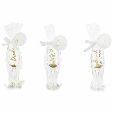 Bride Champagne Shot Glasses