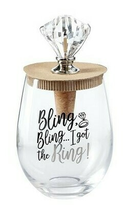Got The Ring Wine Glass