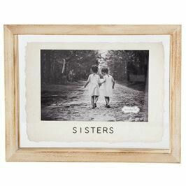 4 X 6 Sisters Glass Frame