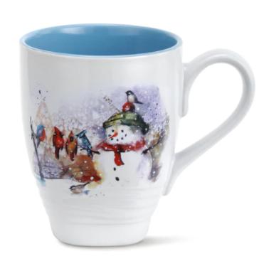 Winter Friends Holiday Mug