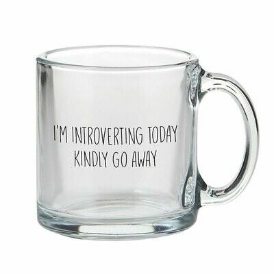 Introverting Glass Mug