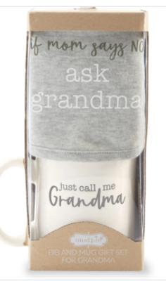 GMA Bib And Mug Gift Set