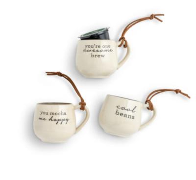 Coffee Pod Mug Ornament
