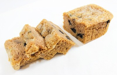 Blueberry Banana Bread (8 servings)
