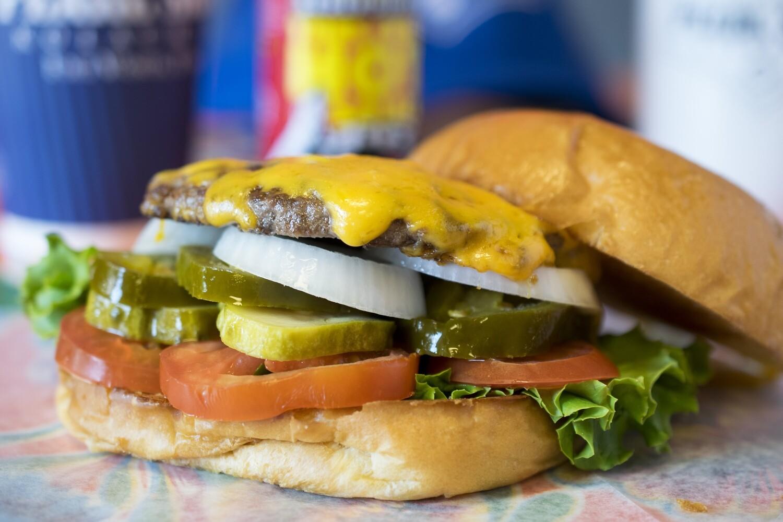Single Patty Burger