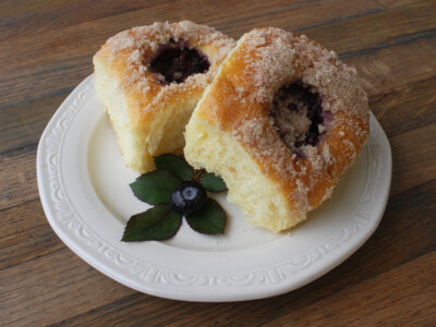 Blueberry Kolache