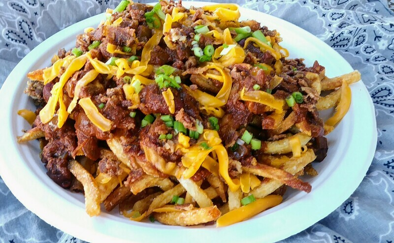 Lg Loaded Chili Fries