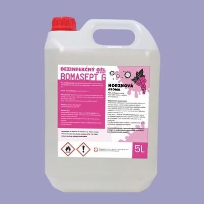 Bomasept G - dezinfekč gél na ruky 5l - hroznový