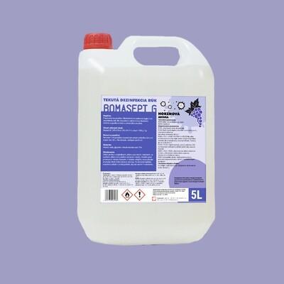 Bomasept G - dezinfekč roztok na ruky 5l - hroznový