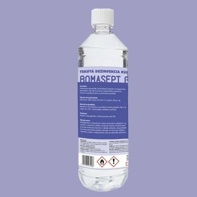 Bomasept G - dezinfekč roztok na ruky 1l - hroznový