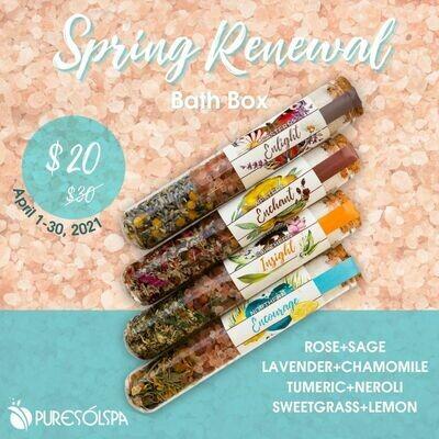 Spring Renewal Bath Box