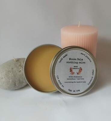 Moose Balm. All over soft soothing salve for hands and body