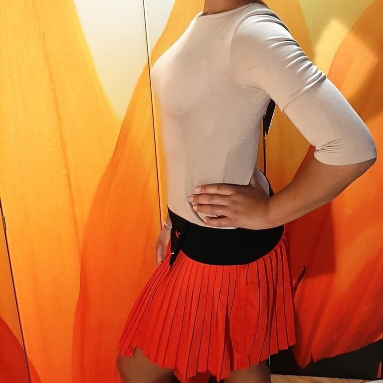 Трёхцветное платье Explosion