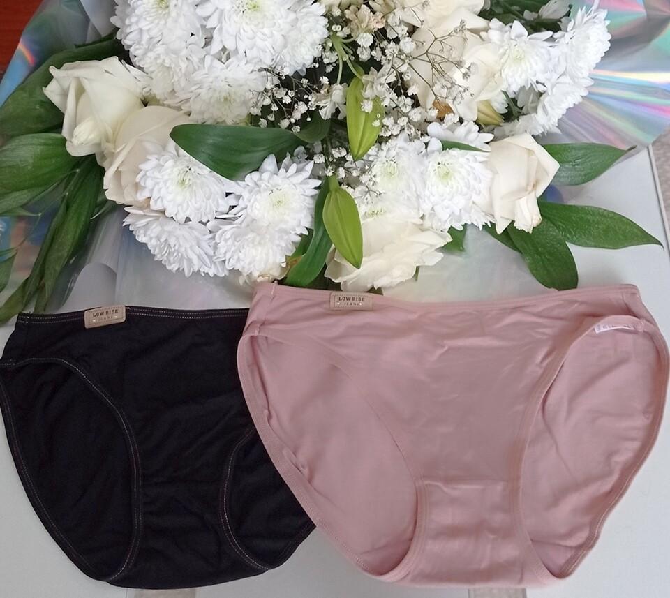 Women's panties Sister Hood, black and cream