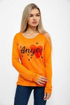 Батник женский цвет Оранжевый