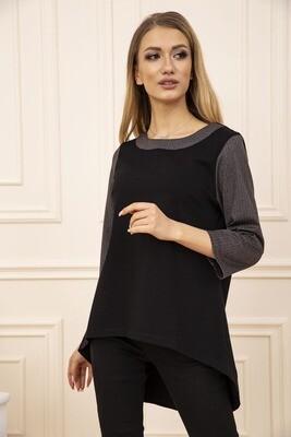 Кофта женская цвет Черно-коричневый