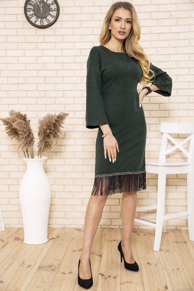 Платье женское цвет Зеленый