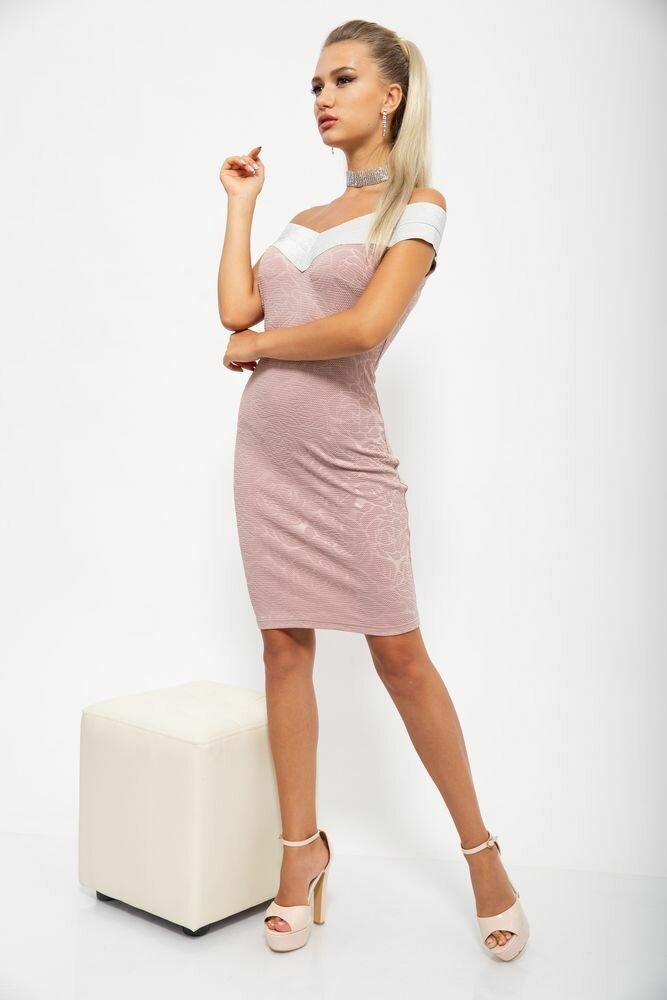 Платье мини цвет Розовый