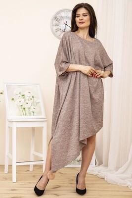 Платье женское Пудровое