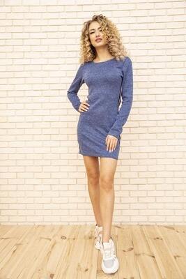 Платье мини с лампасами цвет Джинс