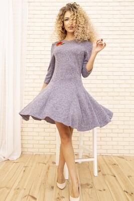 Платье расклешенное Сиреневое